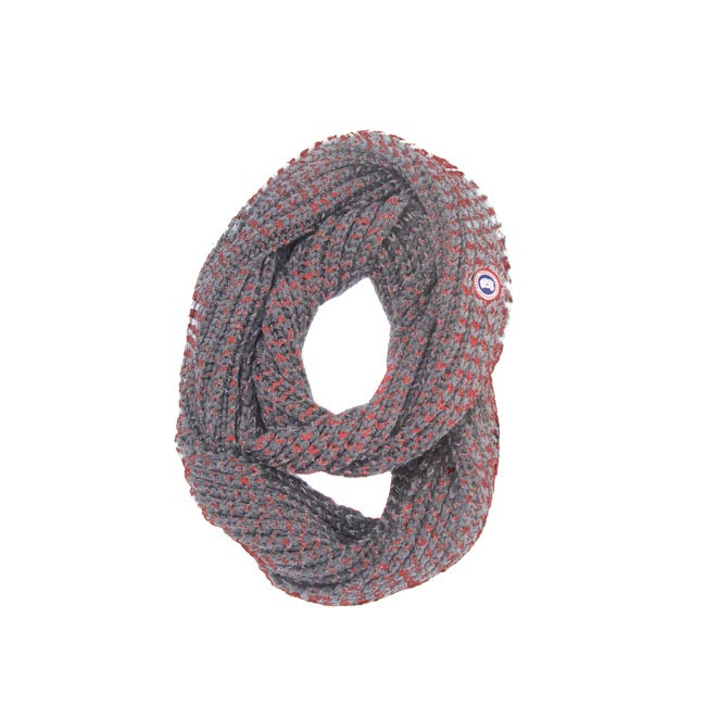 Canada Goose Two-Tone Infinity Scarf