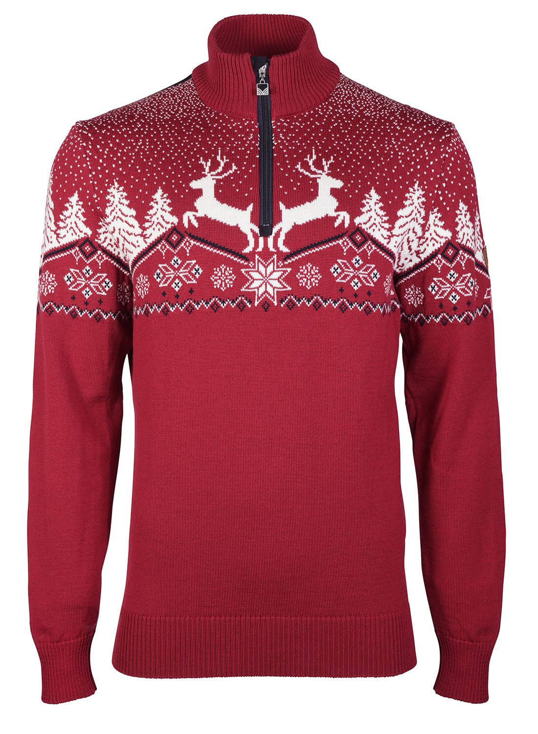 Christmas Masculine Sweater Rot