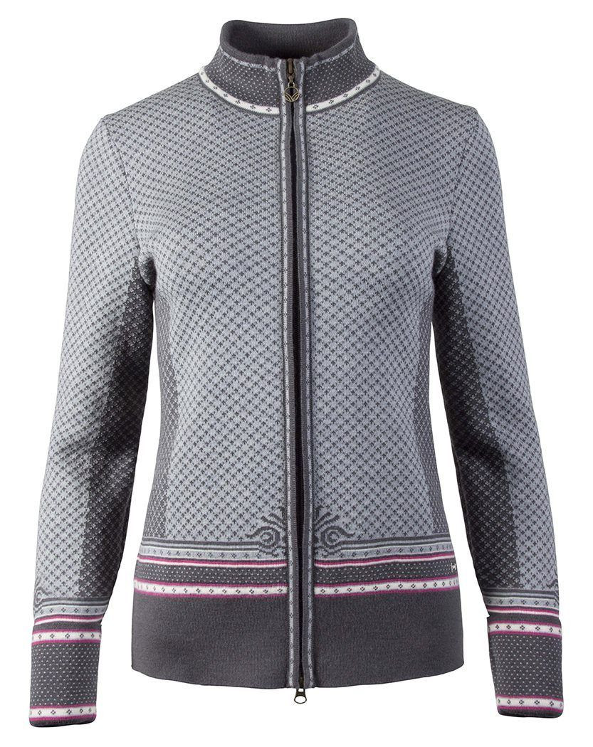 Viktoria Feminine Jacket - Schiefer / Allium / Off White / Grey