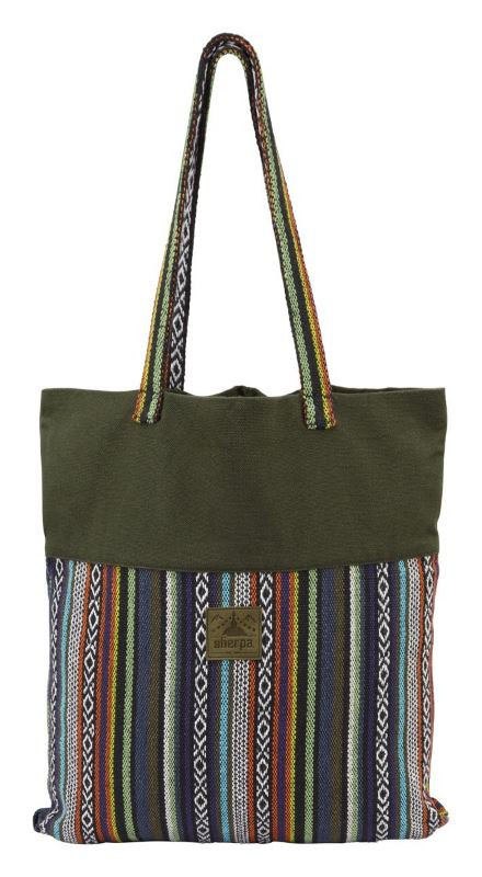 Jhola Roll Up Bag - Juniper
