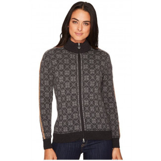 Frida Feminine Cardigan Dark Grey