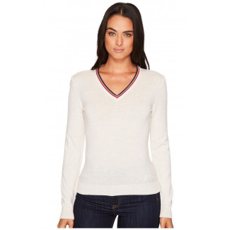 Kristin Feminine Sweater Light Blue