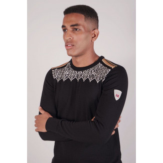 Lillehammer Masculine Sweater Black