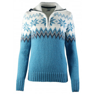 Myking Feminine Sweater Türkis
