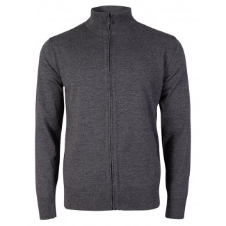 Olav Masculine Cardigan - Dark Grey