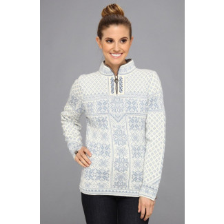 Peace Feminine Sweater Light Blue