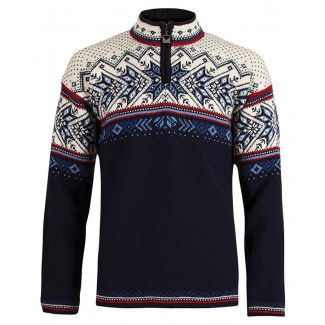 Vail Unisex Sweater Navy