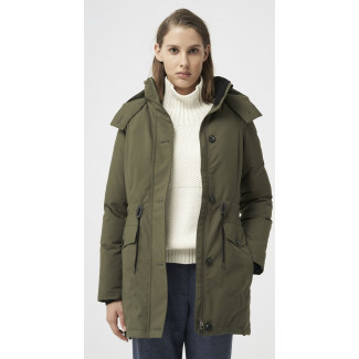 Laurentia Parka - Military Green