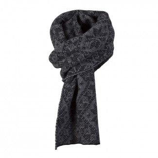 Rose Scarf navy-light-carcoal