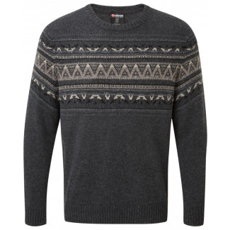 Nathula Crew Sweater - Kharani / Black