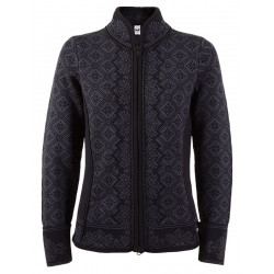 Christiania Feminine Cardigan Black-grey