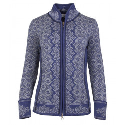 Christiania Feminine Cardigan Blue-grey