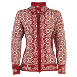Christiania Feminine Cardigan Red