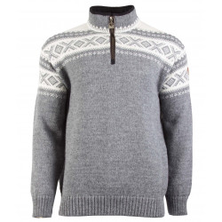 Cortina Half Zip Unisex Sweater Grey