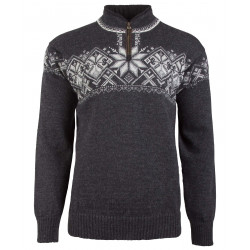 Geiranger Unisex Sweater Dark Grey