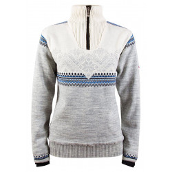 Glittertind Feminine Sweater Grey-blue