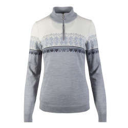 Hovden Feminine Sweater Grey