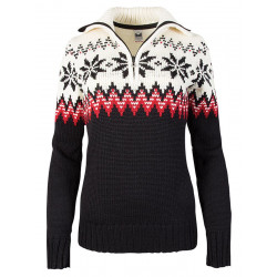 Myking Feminine Sweater Black