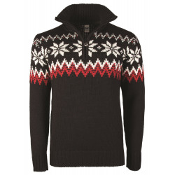 Myking Masculine Sweater Black