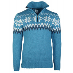 Myking Masculine Sweater Turquoise