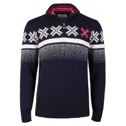 Olympic Passion Masculine Sweater Navy
