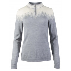 Snefrid Feminine Sweater Grey