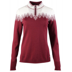 Snefrid Feminine Sweater Red