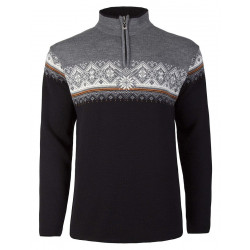 St. Moritz Masculine Sweater Grey-Black