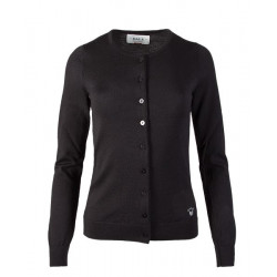 Marit Feminine Cardigan Black